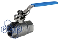 Two Piece Ball Valve - Female BSPP