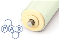 Polyurethane Roller Sleeves - White