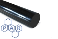 Nylon 66 Rod - Black