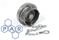 Storz Coupling Blank Cap & Chain