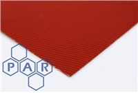 Red Double Coated - Silicone Glass Cloth