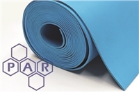 Viton® Rubber Sheeting - Blue Food Quality