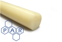 Nylon 66 Rod - Natural