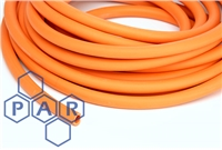 6702 - Red Natural Rubber Tubing