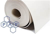 Abrasion Resistant Rubber Sheeting - White