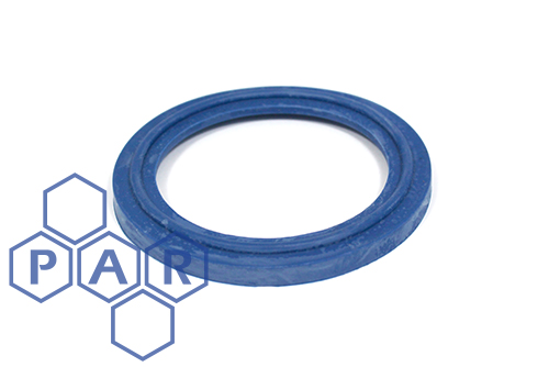 Tri-Clamp Seals - Blue EPDM Metal Detectable