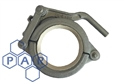 "6"" flared end single lever clamp"