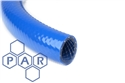 6mm id blue braided pvc hose