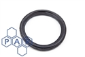 "2½"" black epdm rubber tri-clamp seal"