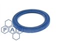 "1"" flanged blue epdm tri-clamp seal"