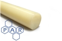 10Ø natural nylon 66 rod