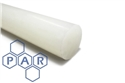10Ø natural polypropylene rod