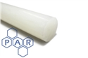 75Ø natural polypropylene rod