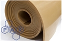 1.4mx1.5mm tan para rubber sheet